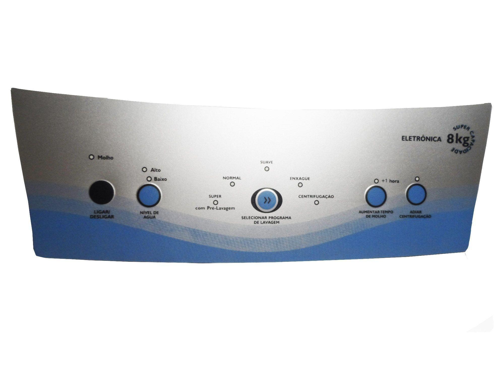 Kit Painel Membrana Lavadora Top8 Electrolux 70091193