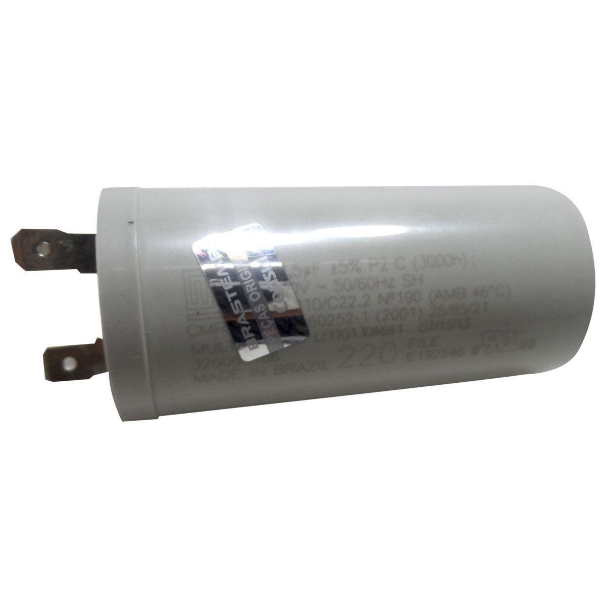 Capacitor Fase 12X380VAC Lavadora Consul 220V 326066186