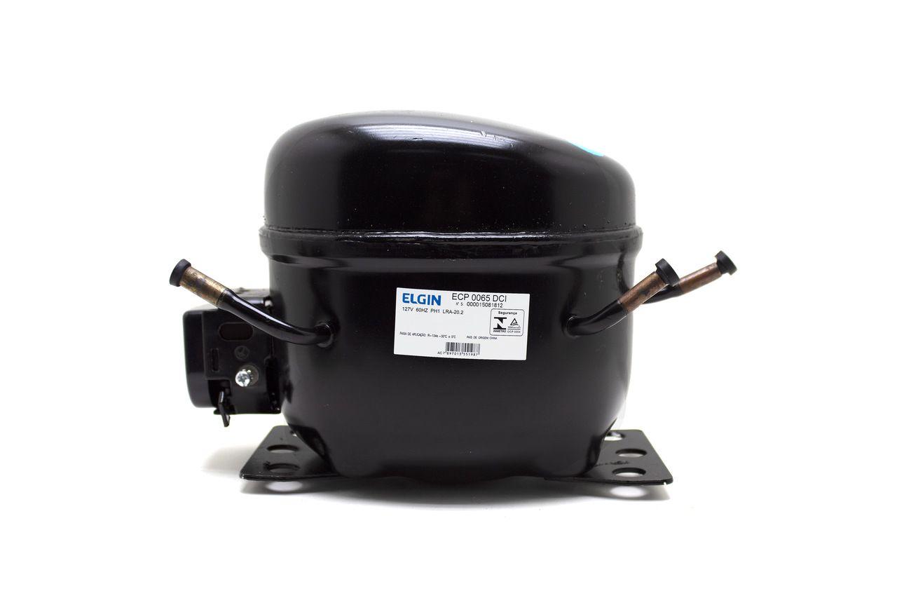 Compressor 1/5HP 127V 60HZ R134A 45ECP0065DCI Elgin
