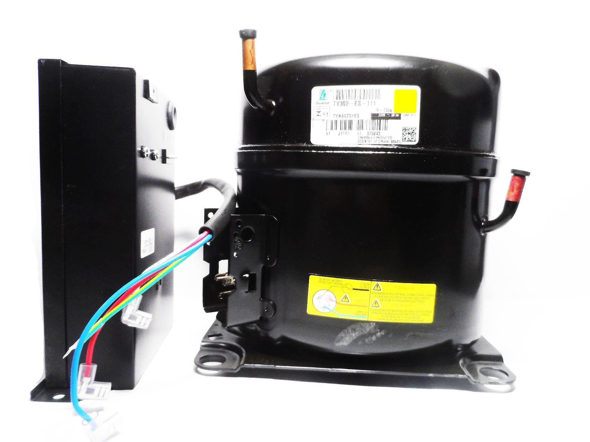 COMP. TECUMSEH TY302ES 3/4 HP 220V R134A