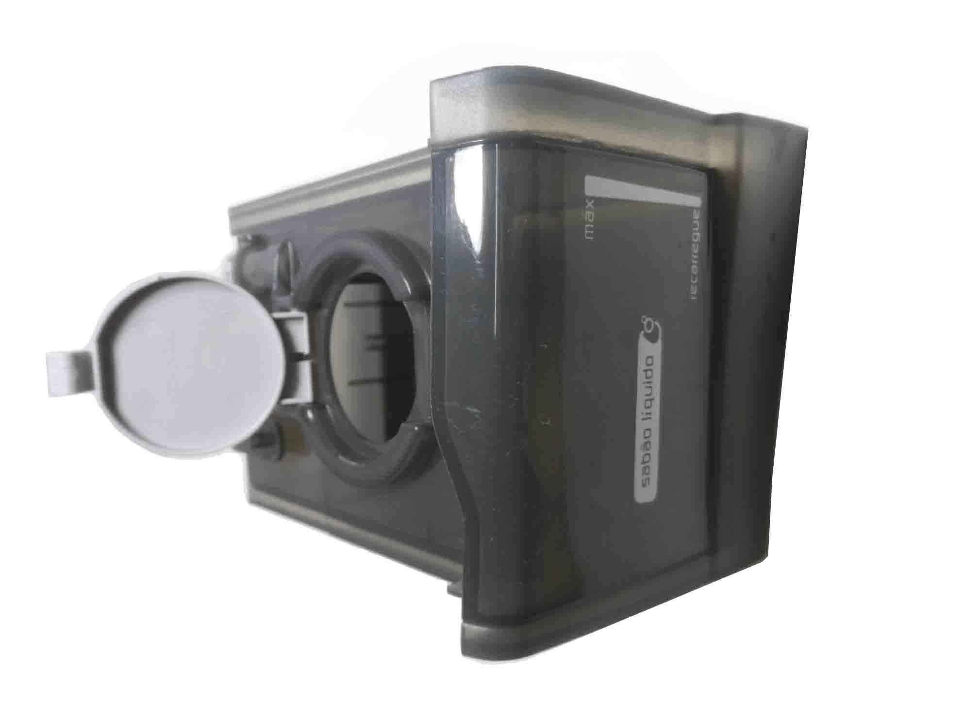 Conjunto Gaveta Sabão Líquido Lavadora Brastemp W10406192