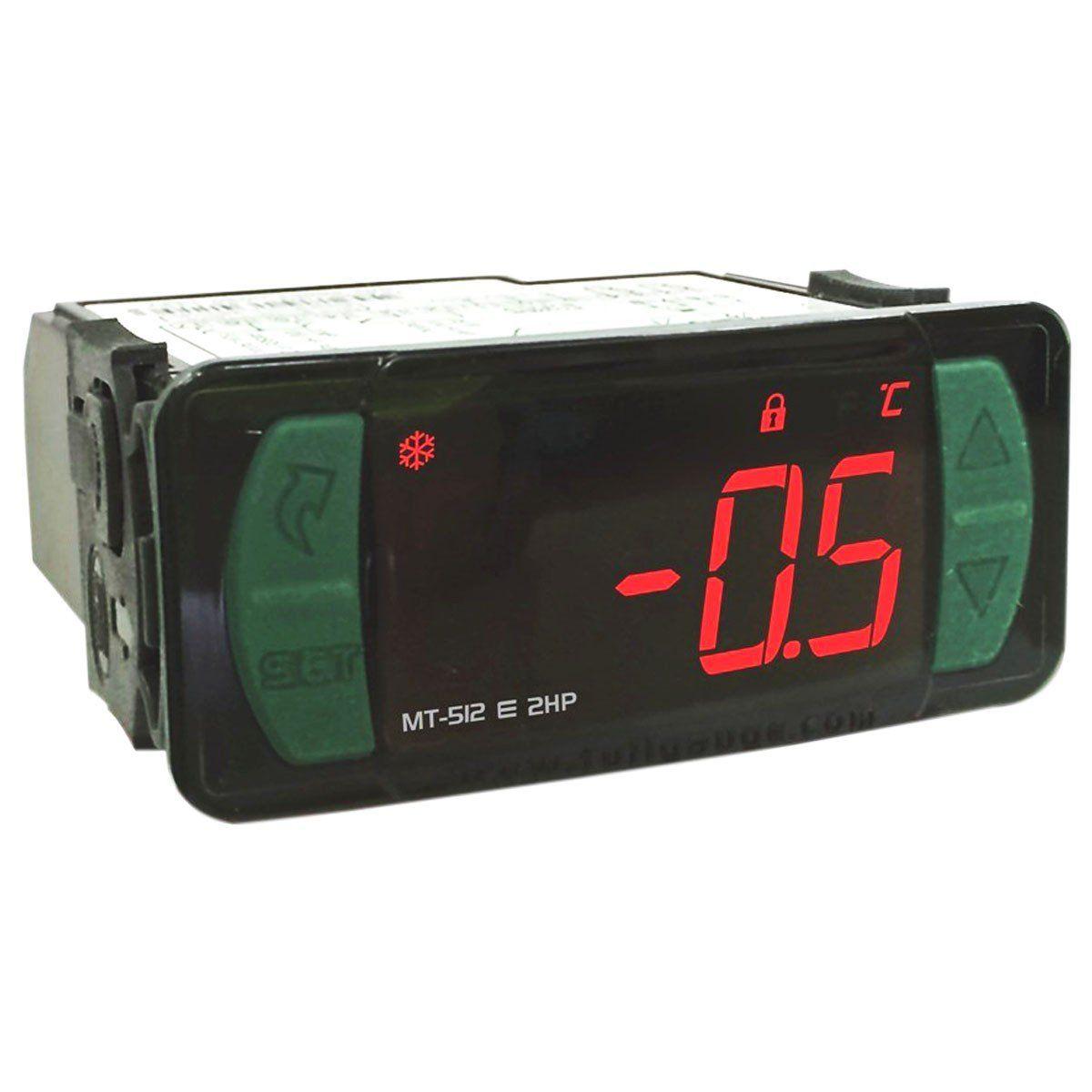 Controlador de Temperatura Digital MT512E Bivolt Full Gauge