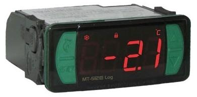 CONTROLADOR TEMPERATURA MT512E LOG 115 230VAC VERSÃO 09 FULL GAUGE