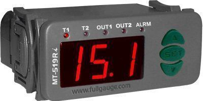 Controlador Temperatura MT519RI 0115 230V 2 Estágios Versão 01 Full Gauge