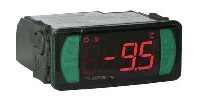 Controlador Temperatura TC900E Log 115 230VAC Versão 02 Versão 10 Full Gauge