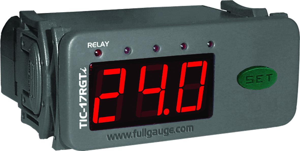 CONTROLADOR TEMPERATURA TIC17RGTI -50+105 127/220V FULL GAUGE
