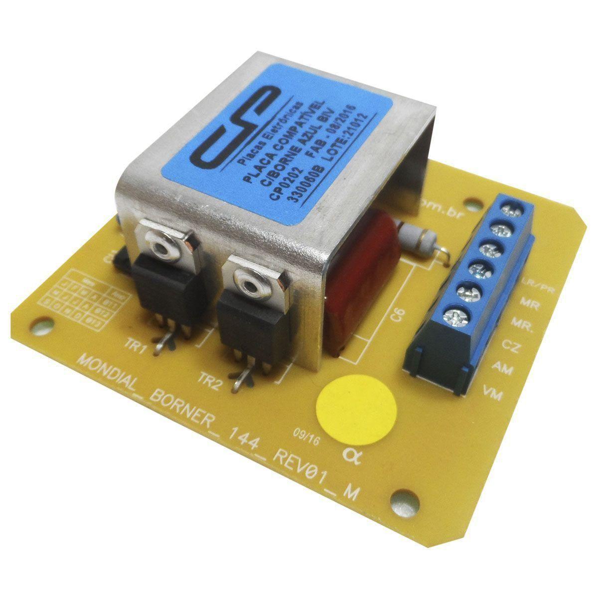 Placa Eletrônica Lavadora Brastemp Mondial Bivolt 330060b/330061b CP 0202
