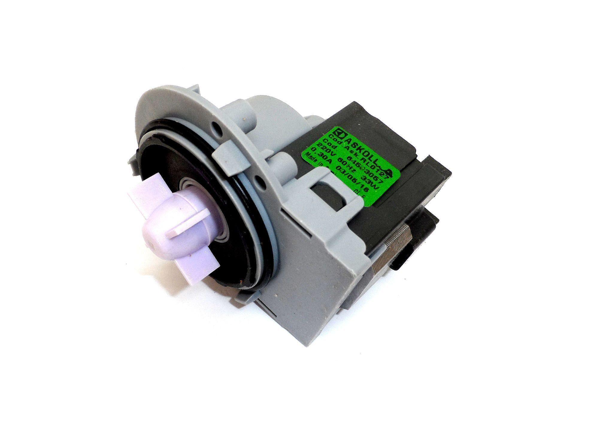 ELETROBOMBA DRENAGEM LAVADORA ELECTROLUX 220V 64503057