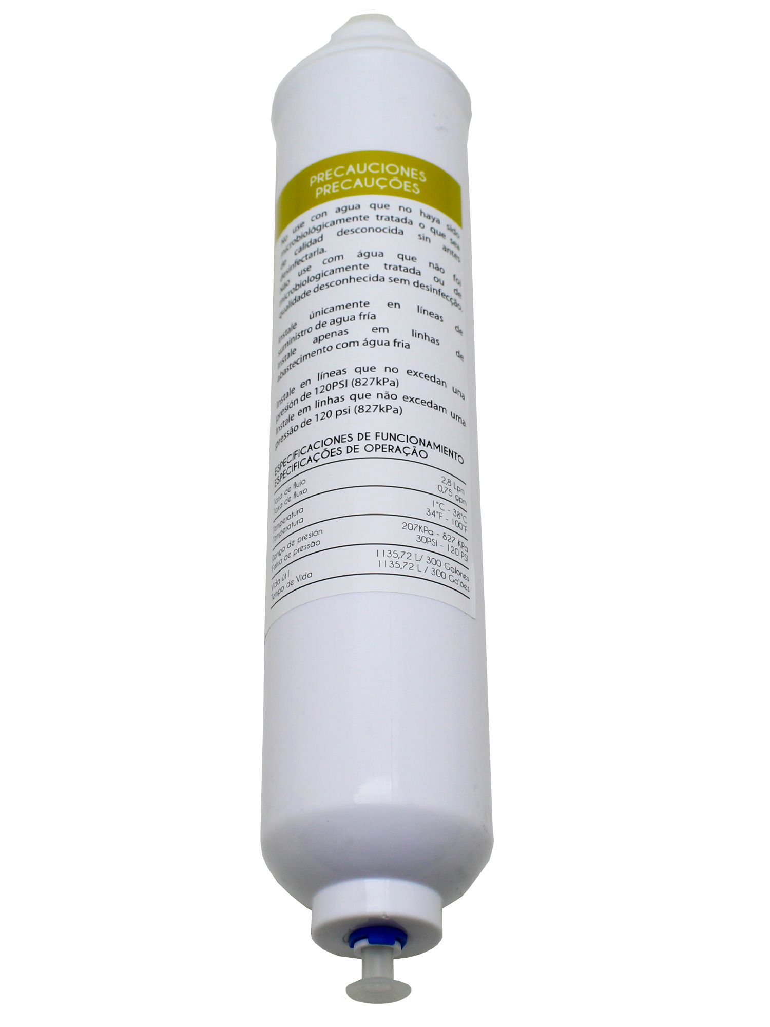 Filtro Água Externo Refrigerador Side By Side Samsung Universal WF-30808C