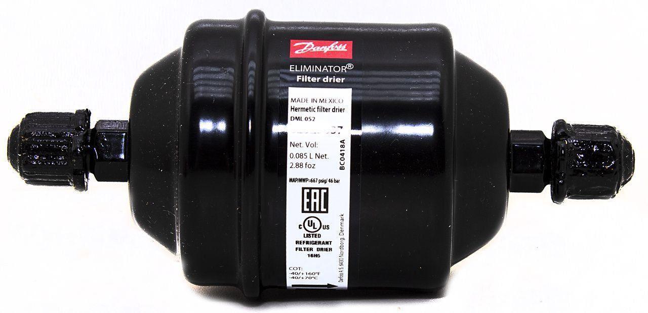 Filtro Secador 105X 1/4 DML052R 023Z5037 Danfoss