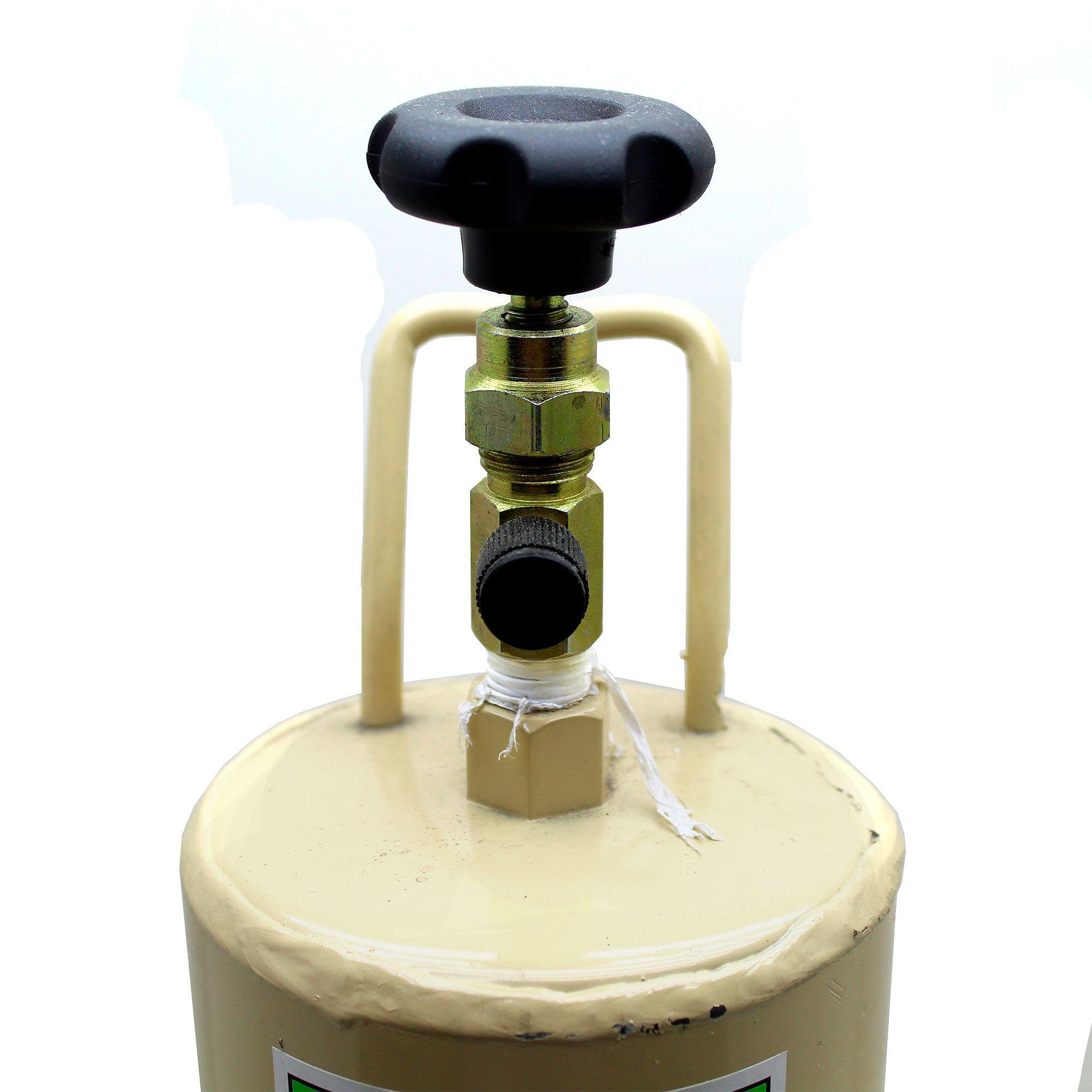 Garrafa para Transporte de Gás 3 kg Com Válvula Segurança