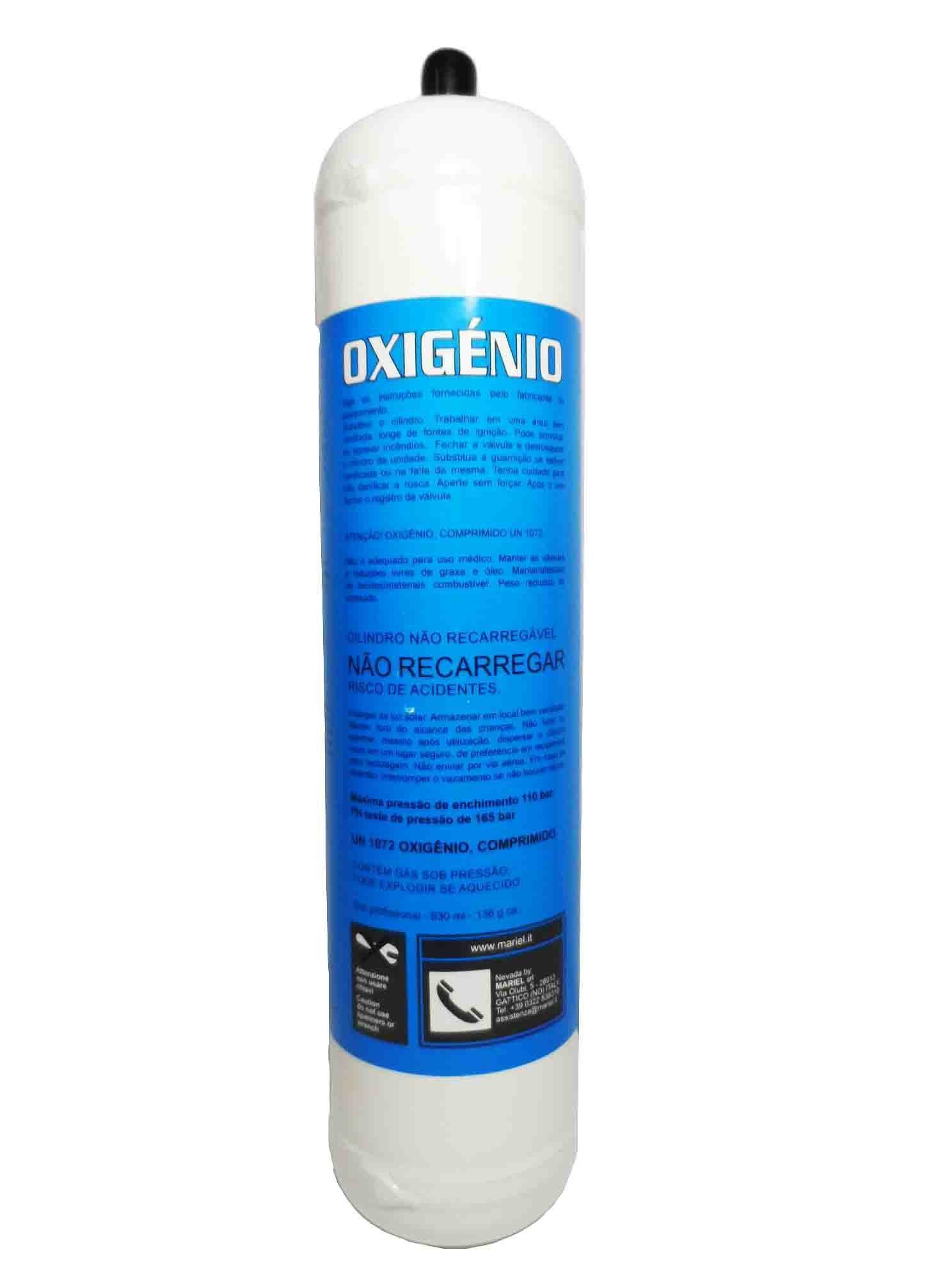 GÁS OXIGÊNIO OXYGEN TURBO 930 ML SET90