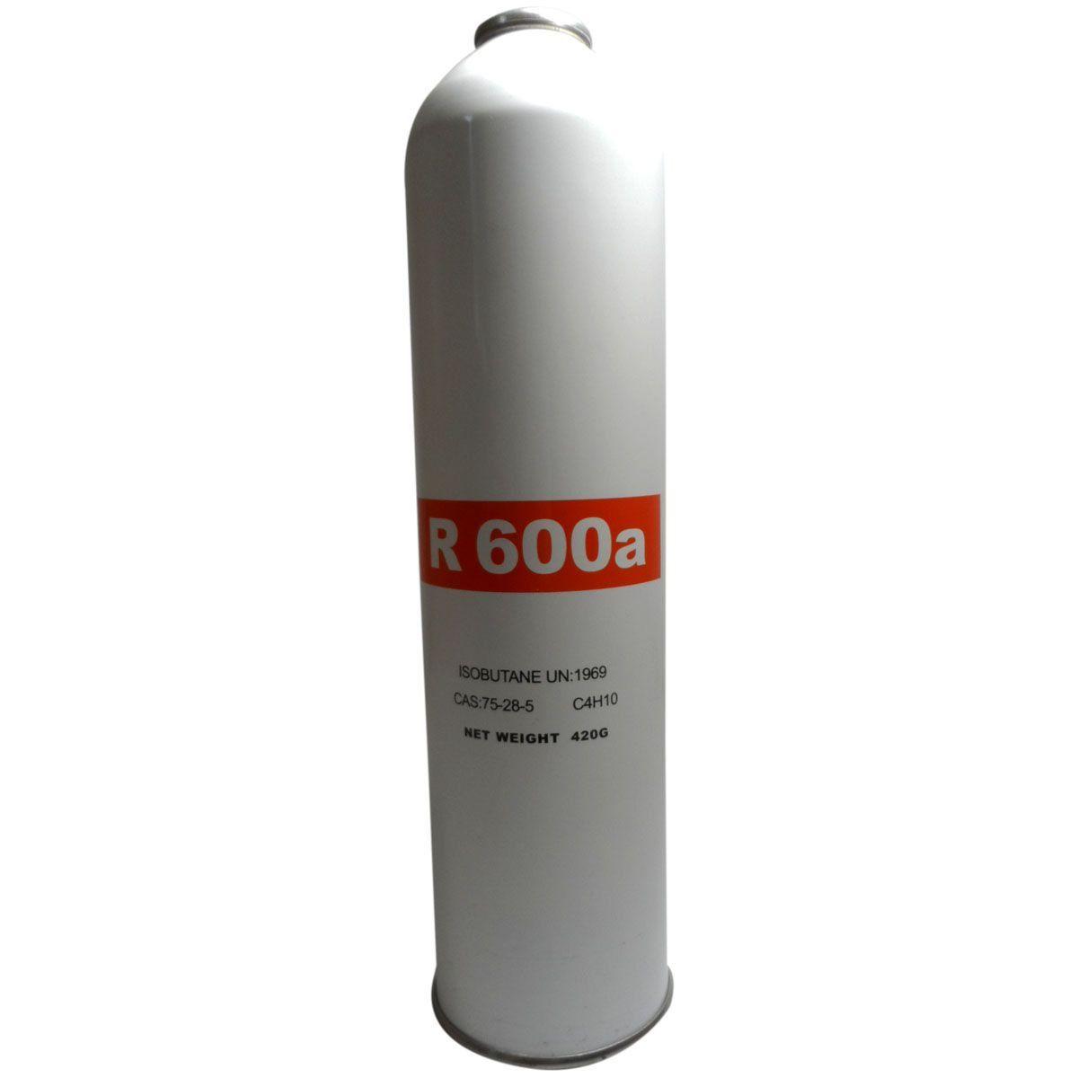 GÁS R600A LATA 420G INFLAMAVEL