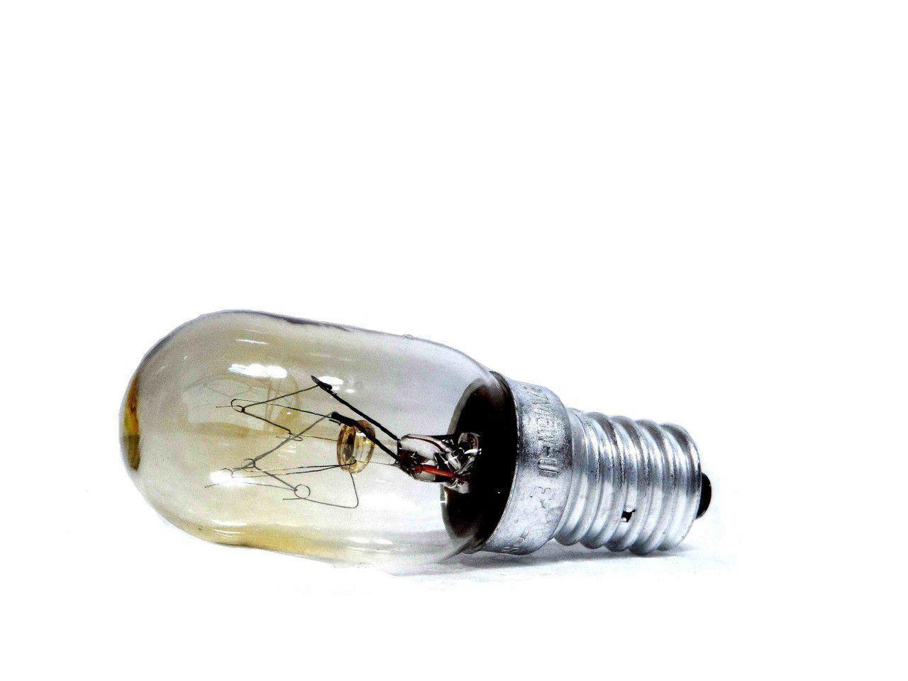 LÂMPADA INCANDECENTE REFRIGERADOR ELECTROLUX 127V15W 64641425