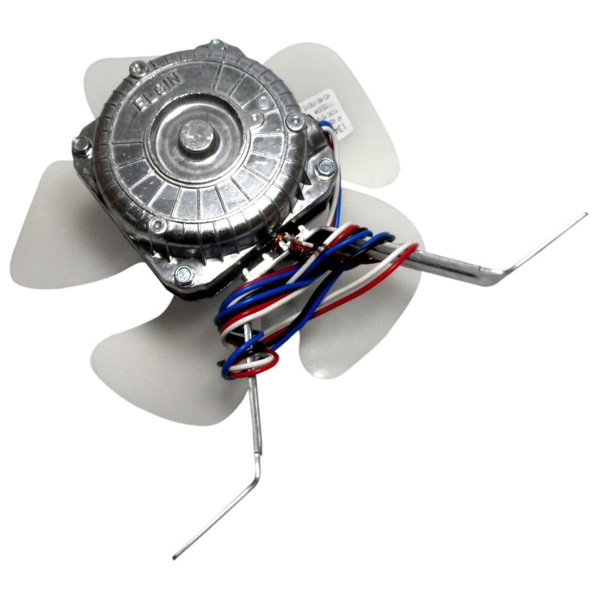 Micro Motor Exaustor 1/40 Bivolt Helice Plastica