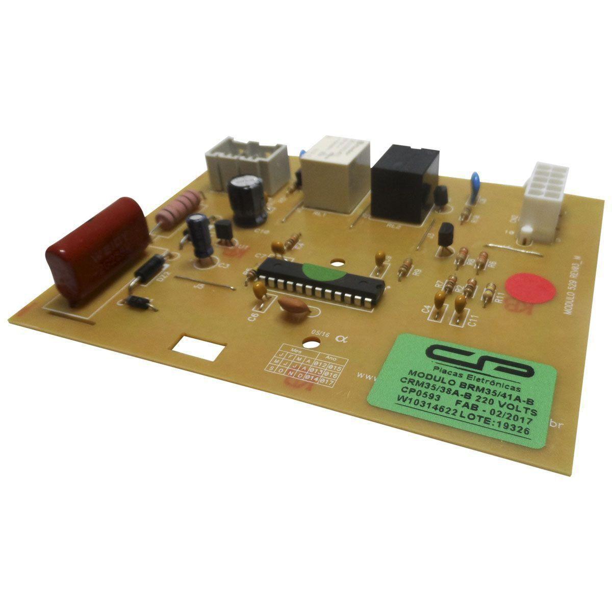 Modulo Eletrônico Refrigerador Brastemp Consul 220V CP Eletrônica 0593