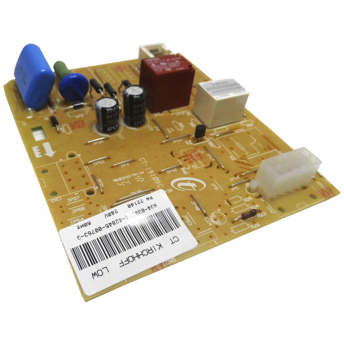 MODULO ELETRÔNICO REFRIGERADOR BRASTEMP CONSUL 220V W10314649