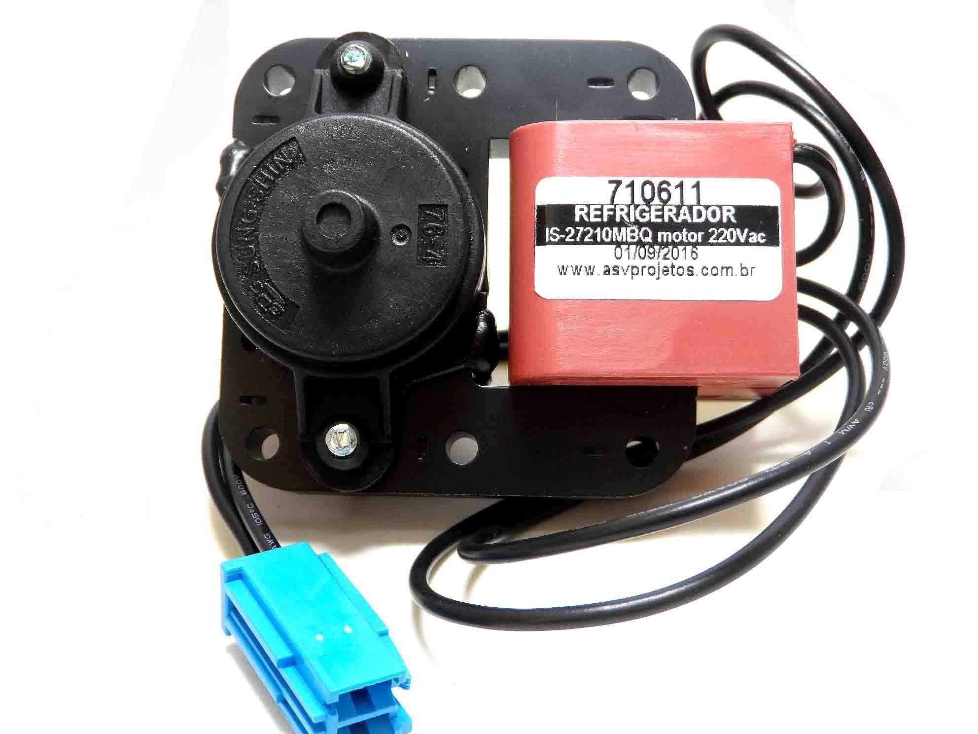 MOTOR VENTILADOR REFRIGERADOR BOSCH 220V 238C4521P0002