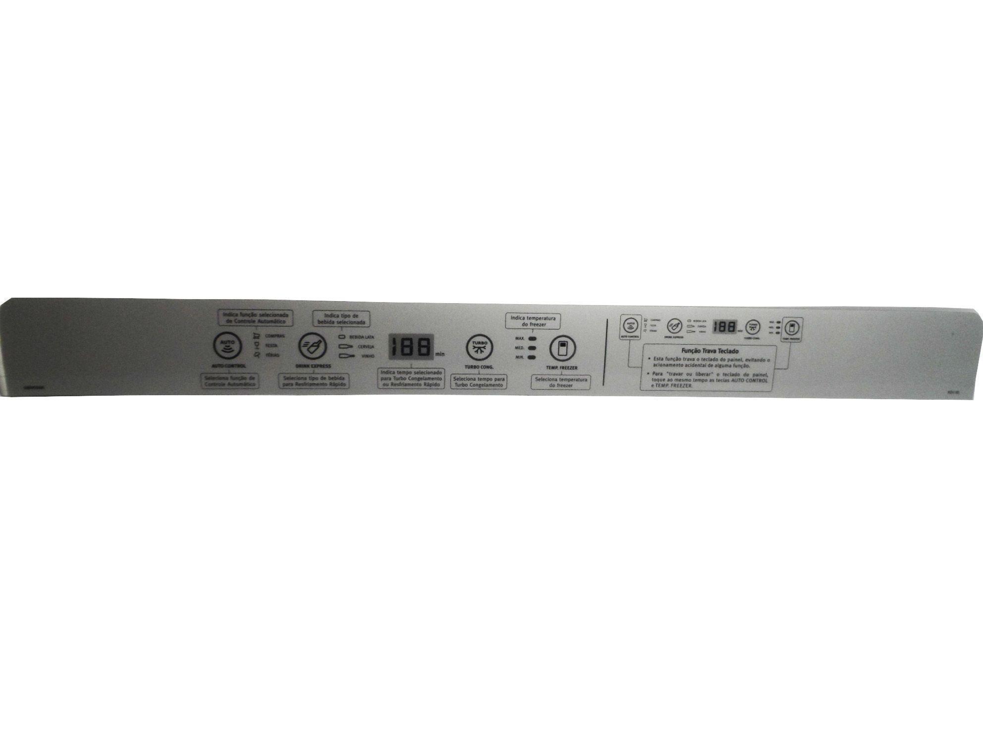 PAINEL DECORATIVO REFRIGERADOR ELECTROLUX 68095068
