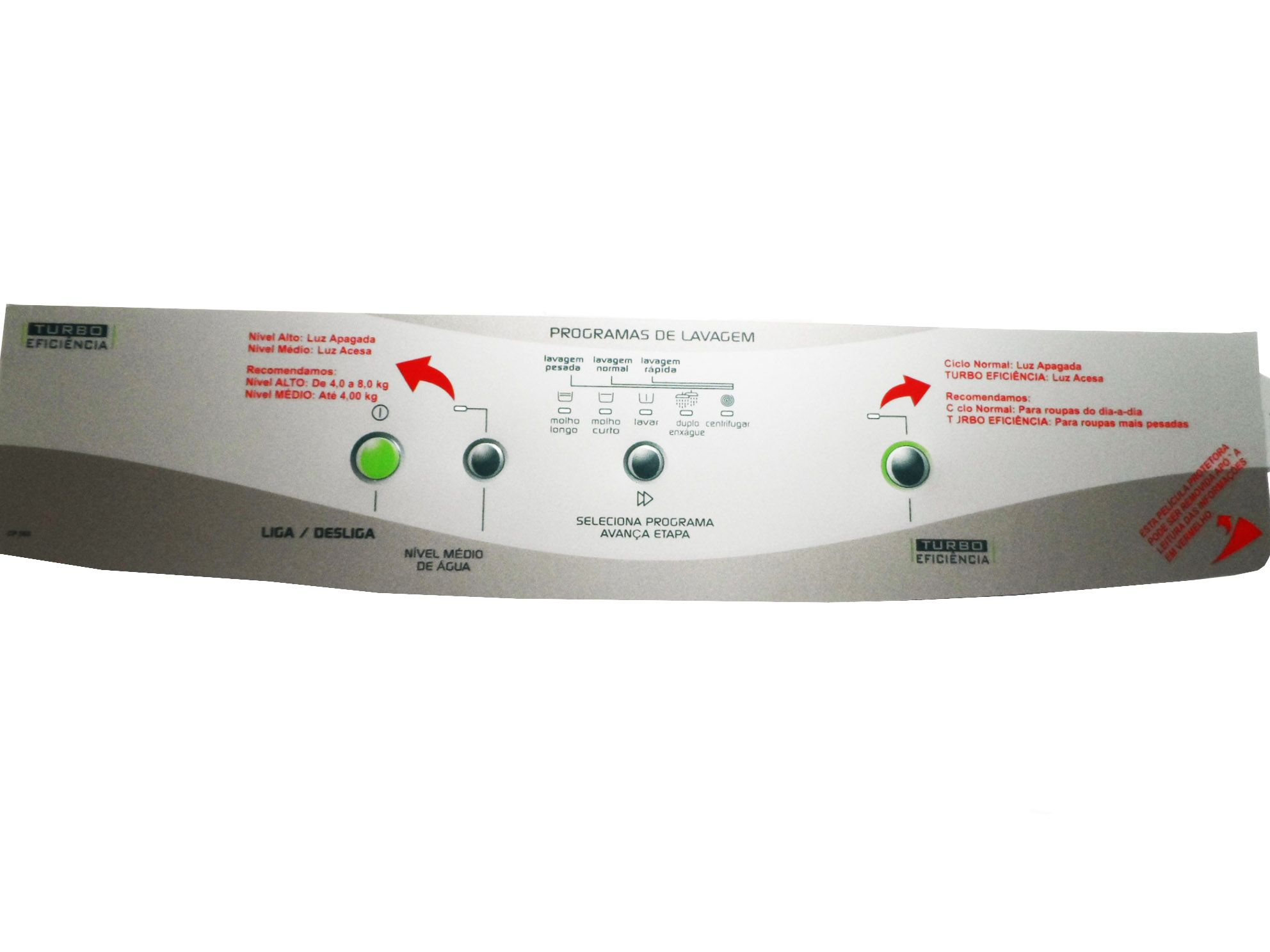 PAINEL DECORATIVO SMART TURBO BWM08A CP