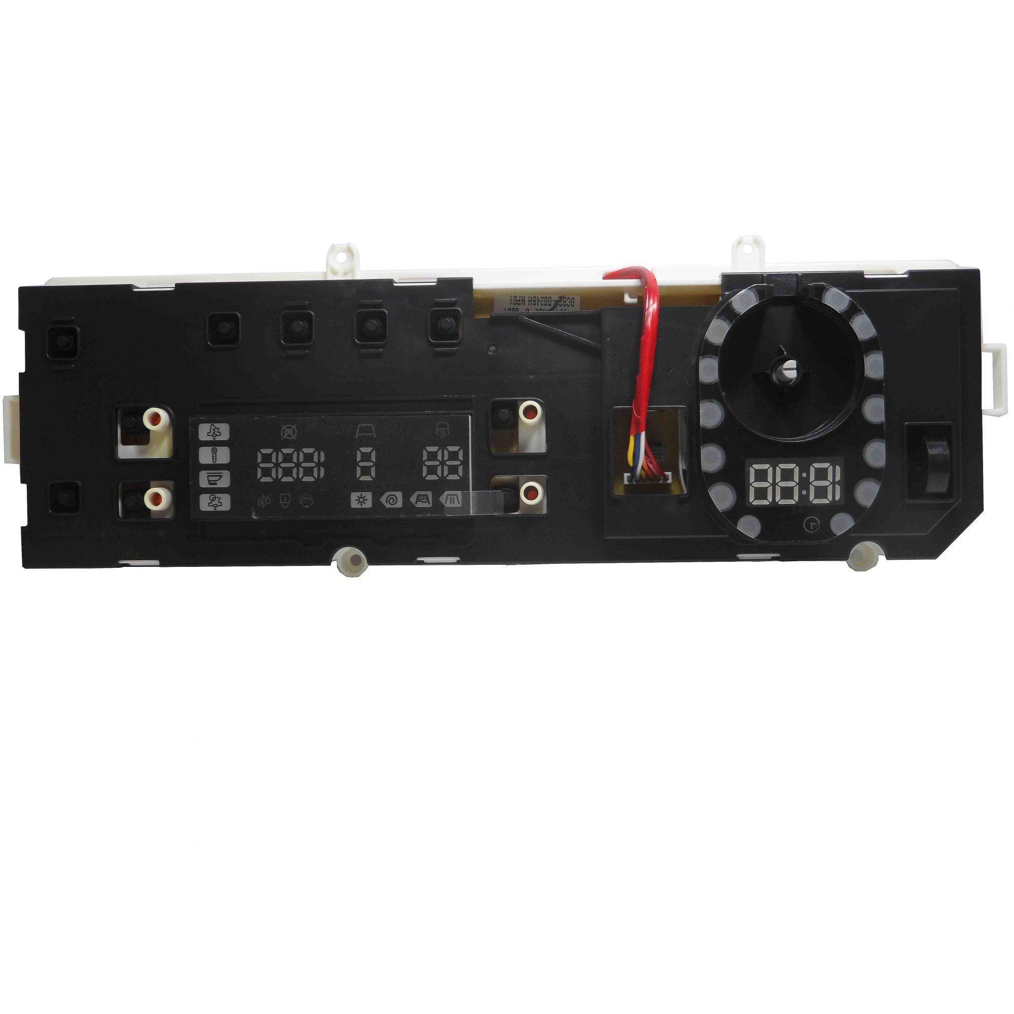 Placa Display Lava Seca Samsung Bivolt  WD8054RJZ DC92-00248H.