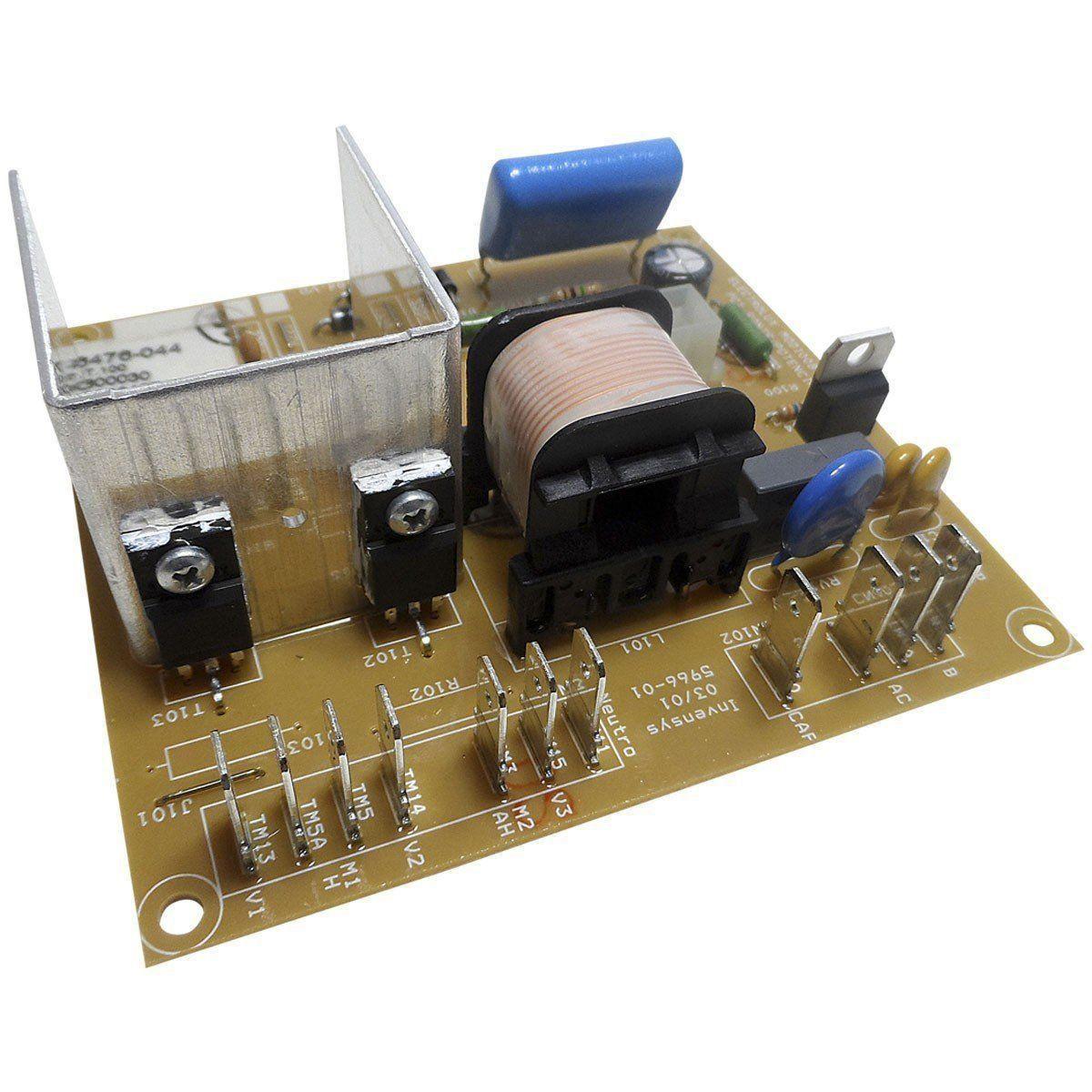 Placa Eletrônica Inferior Lavadora Electrolux 64800030 M21081CBA