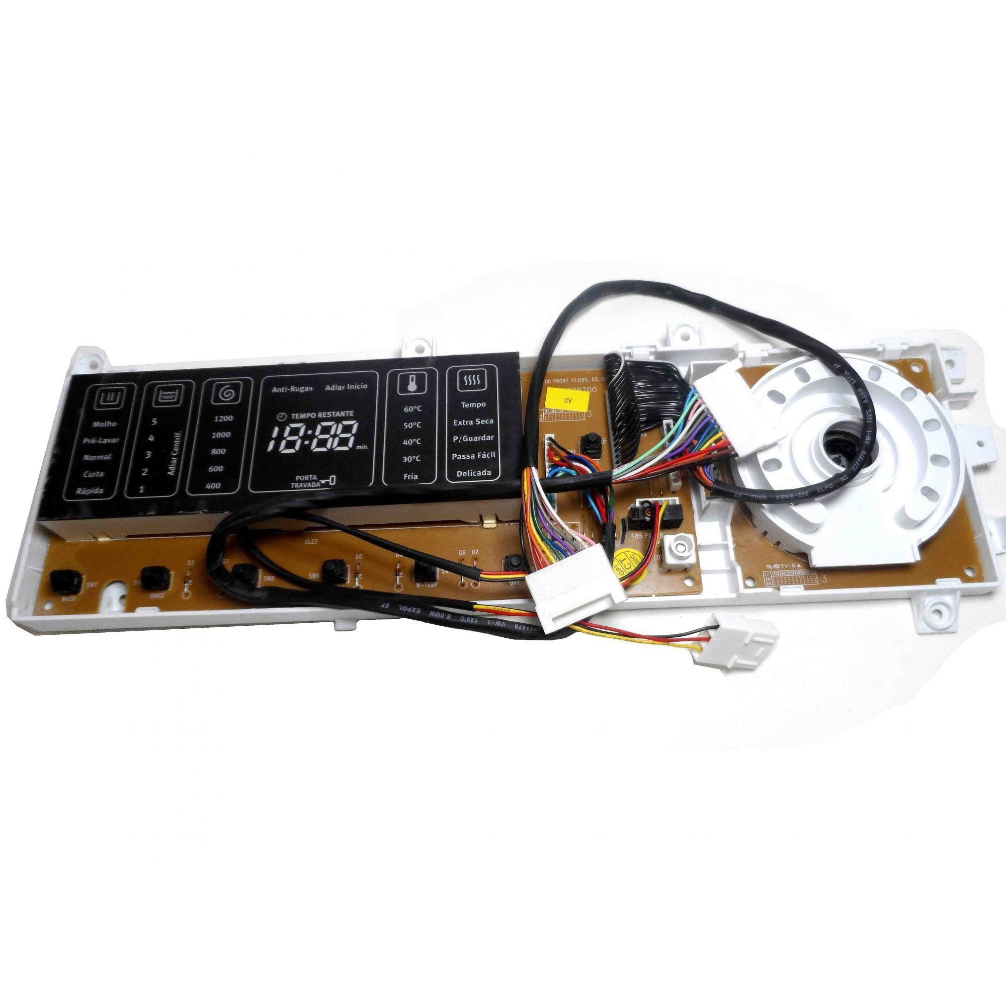 Placa Eletrônica Interface Lava Seca Electrolux PSSWID18