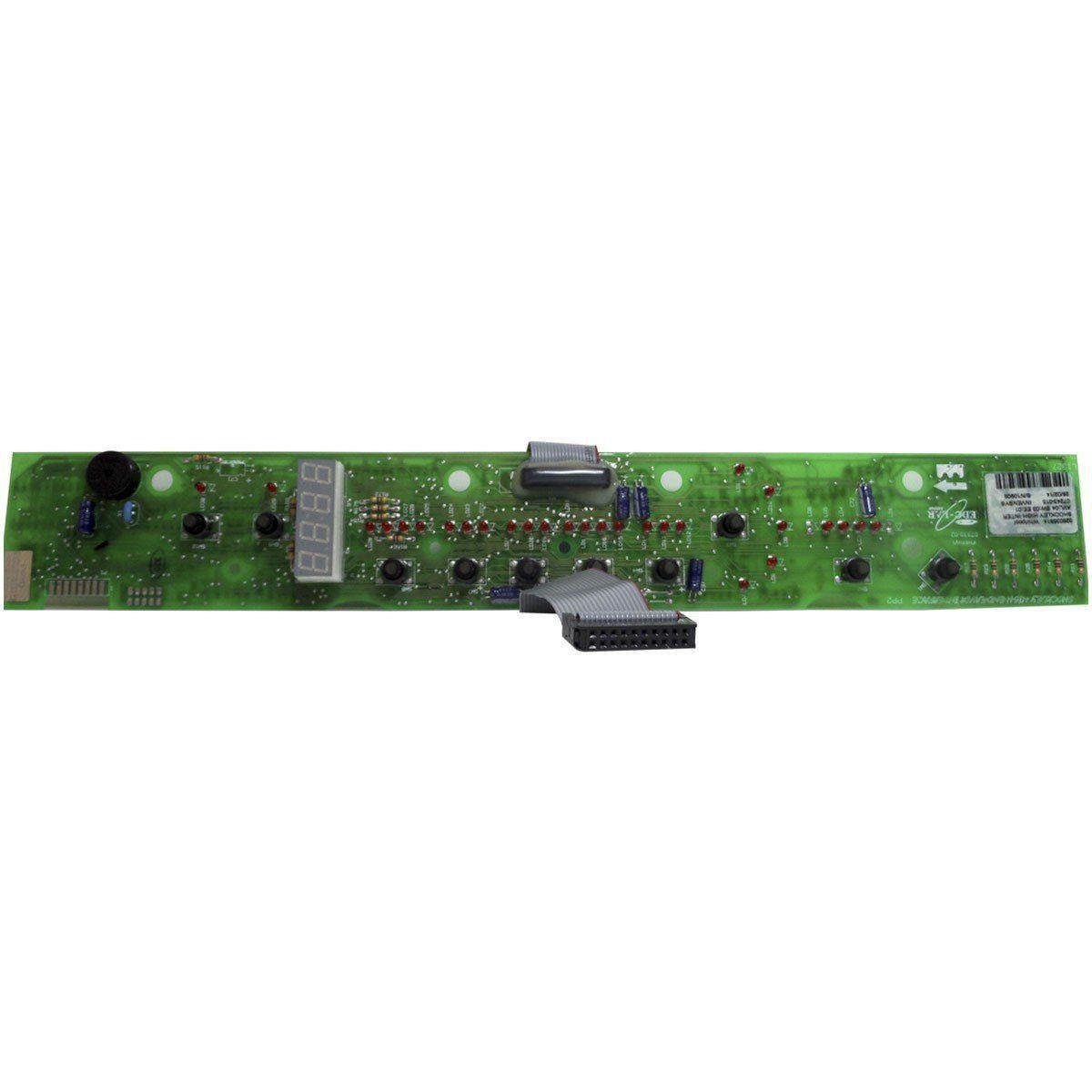 Placa Eletrônica Interface Lavadora Brastemp 326035814