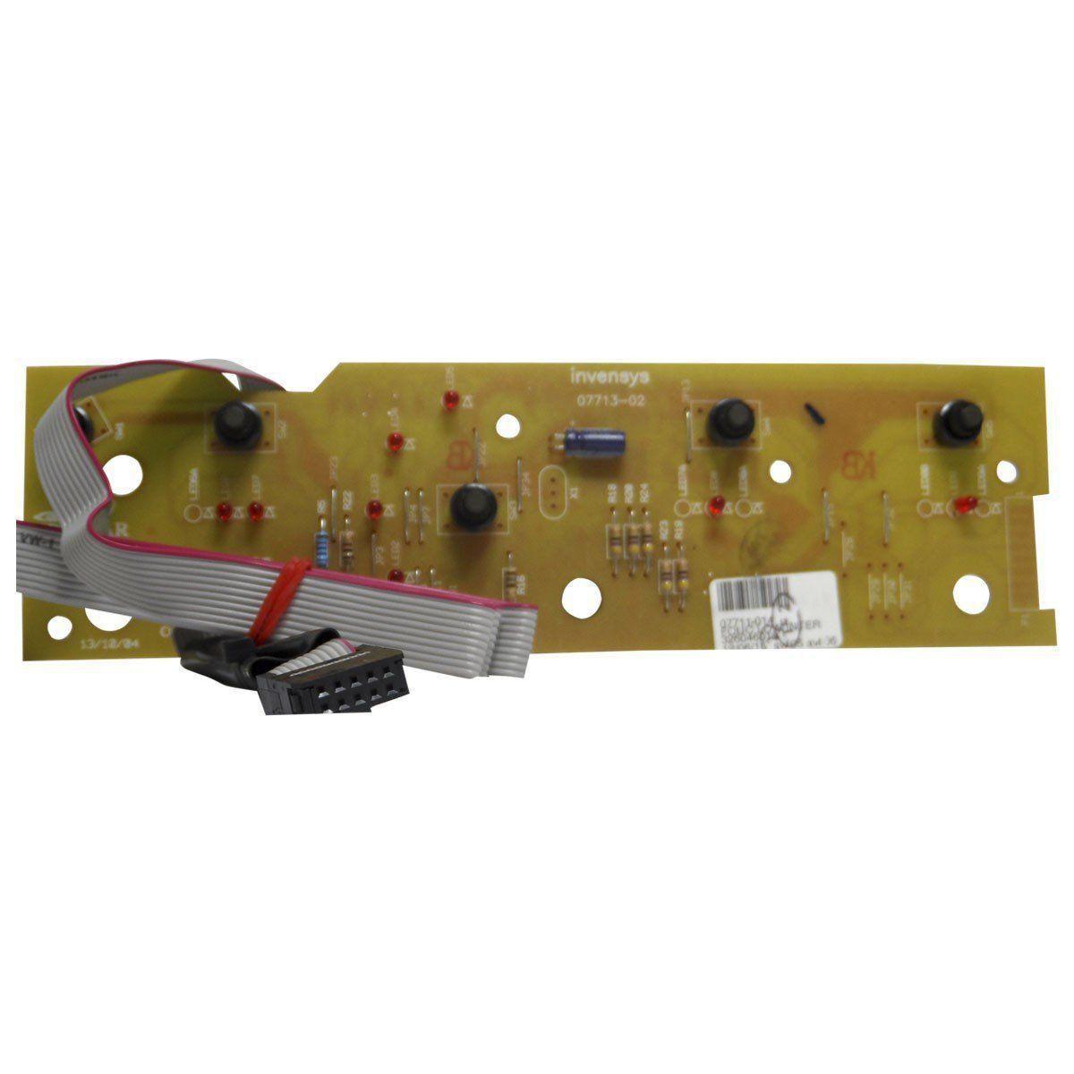 Placa Eletrônica Interface Lavadora Brastemp 326046010 BWF08B