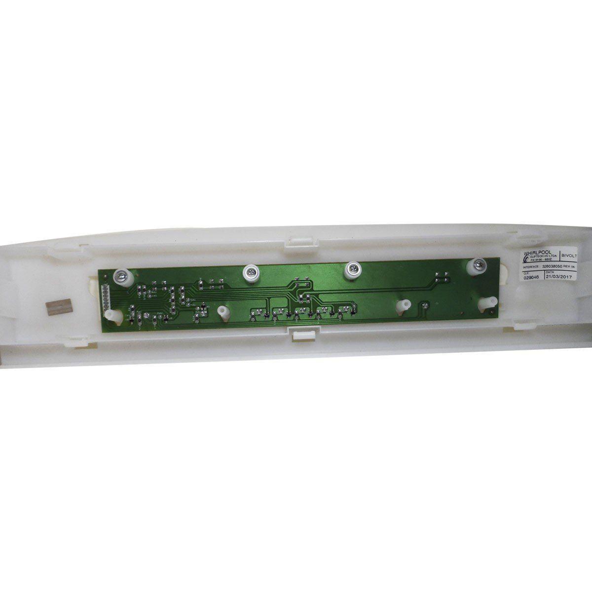 Placa Eletrônica Interface Lavadora Brastemp Bivolt 326038050