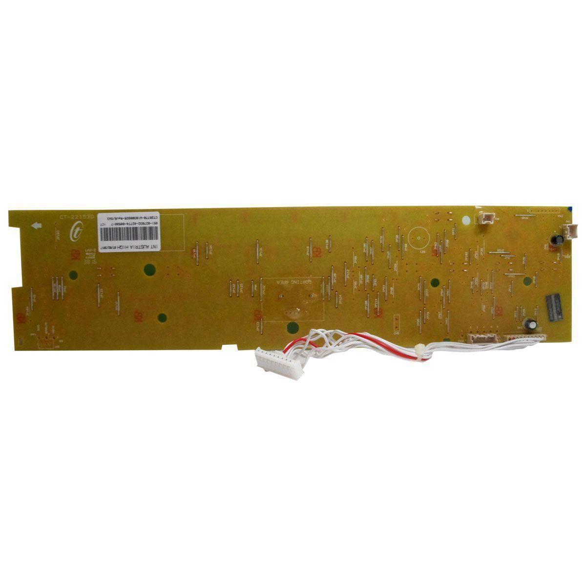Placa Eletrônica Interface Lavadora Brastemp Bivolt W10308925