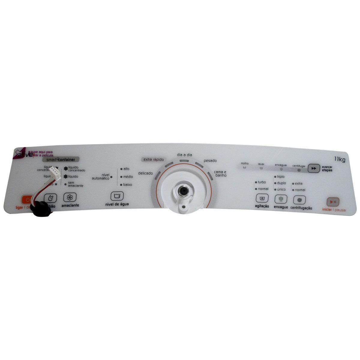 Conjunto Console Placa Interface Lavadora Brastemp Bivolt W10463578