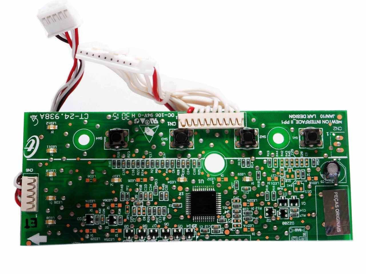 Placa Eletrônica Interface Lavadora Consul Bivolt 326057062