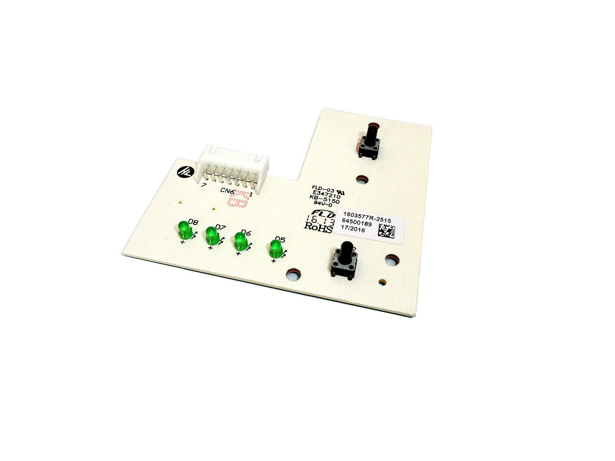 Placa Eletrônica Interface Lavadora Electrolux  64500189