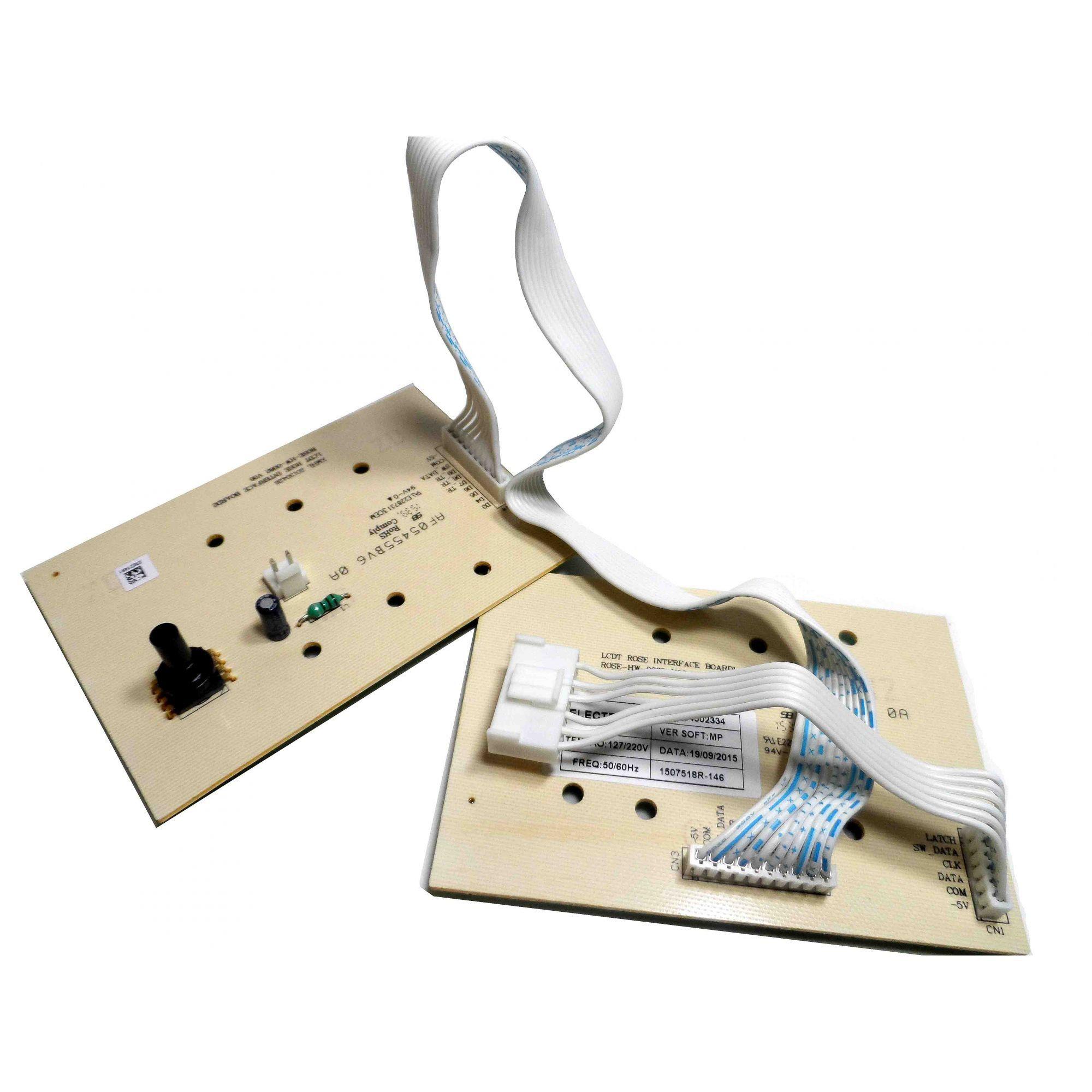 Placa Eletrônica Interface Lavadora Electrolux 64502334