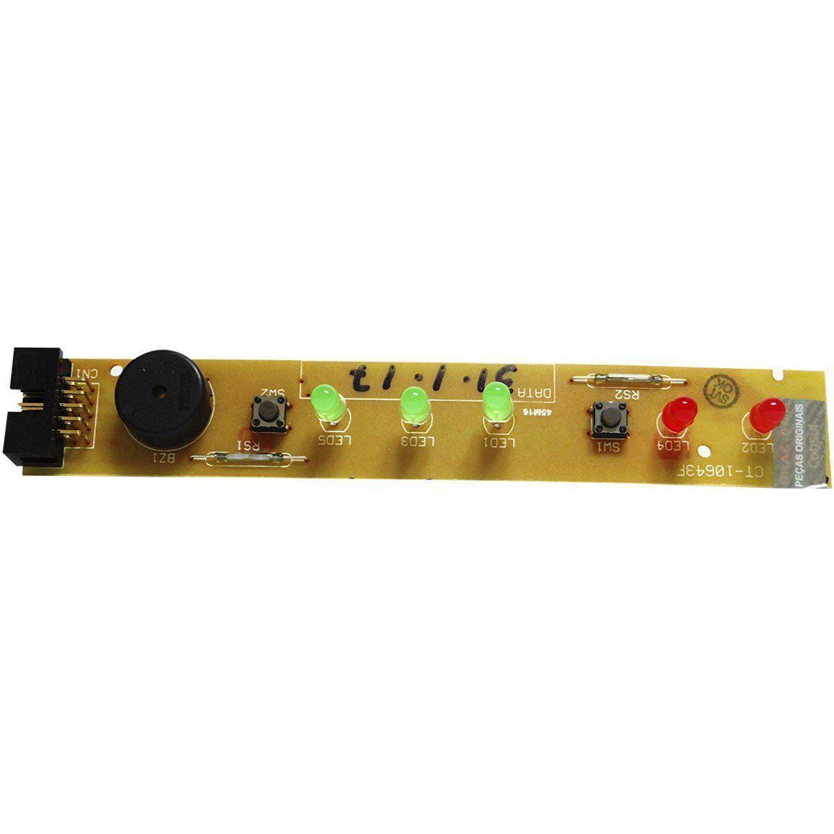 Placa Eletrônica Interface Geladeira Brastemp/Consul Bivolt 411647