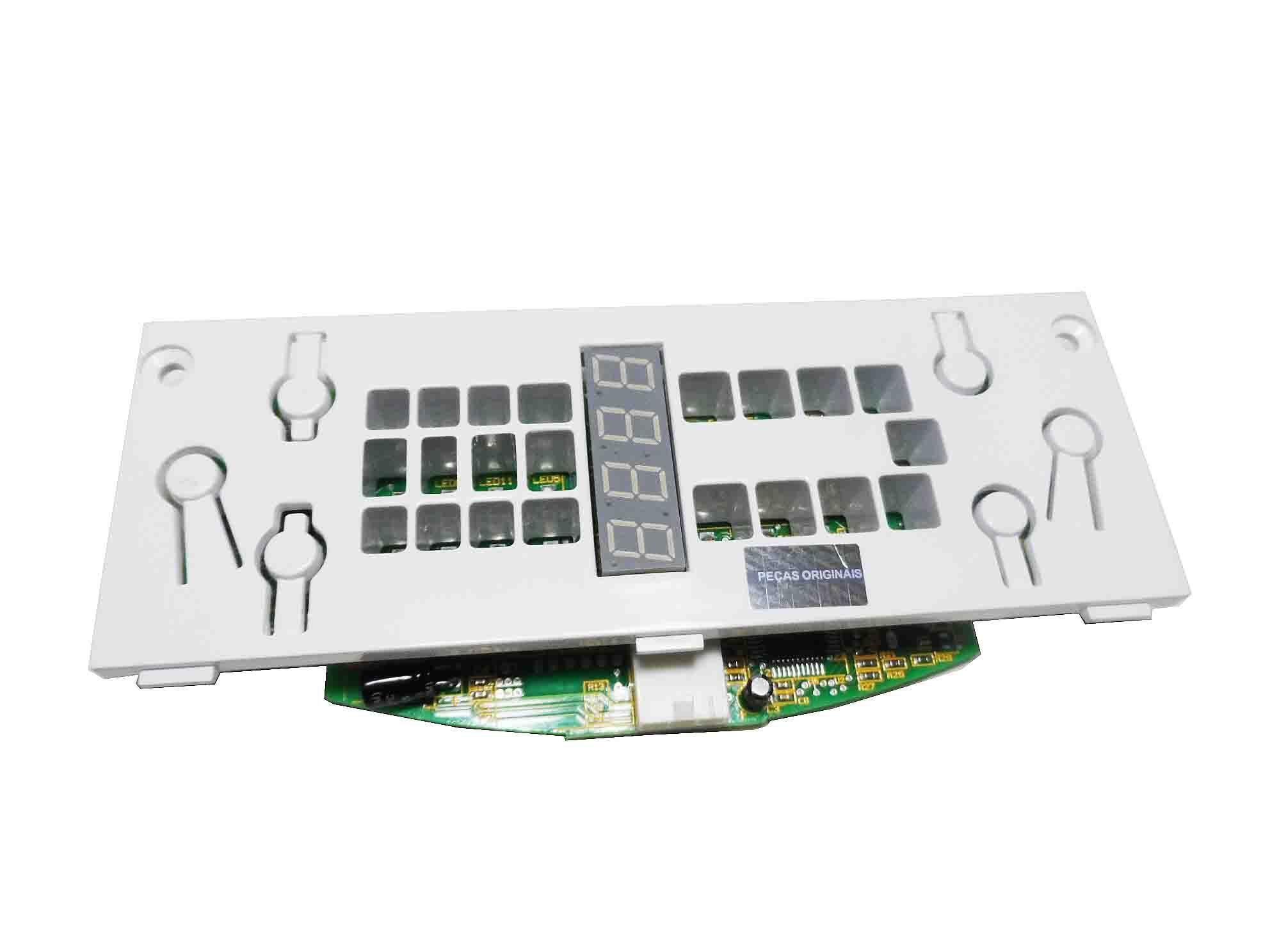 Placa Interface Pegasus Refrigerador Brastemp Bivolt W10169885