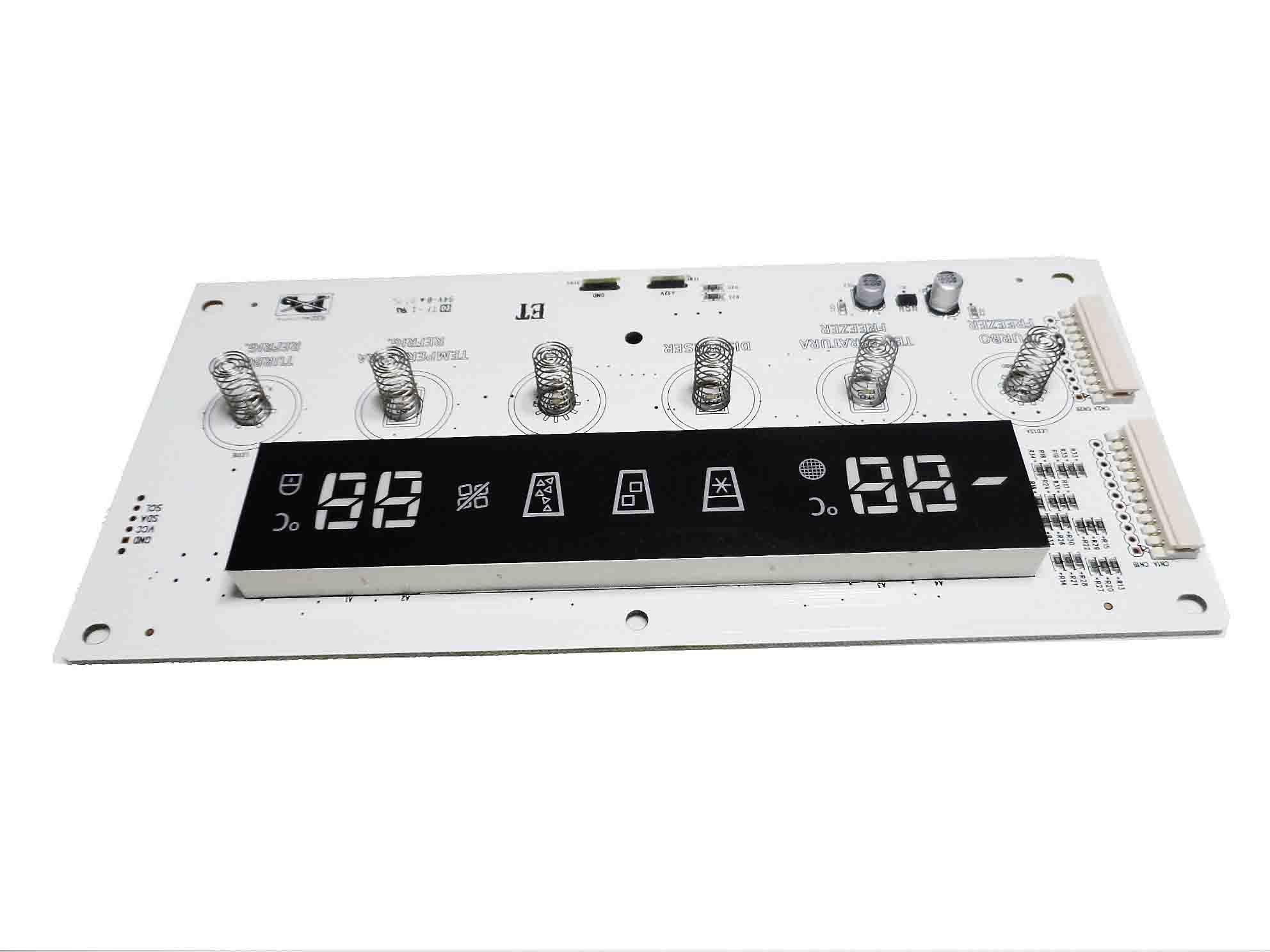 Placa Eletônica Interface Refrigerador Side By Side Electrolux 30143KR160