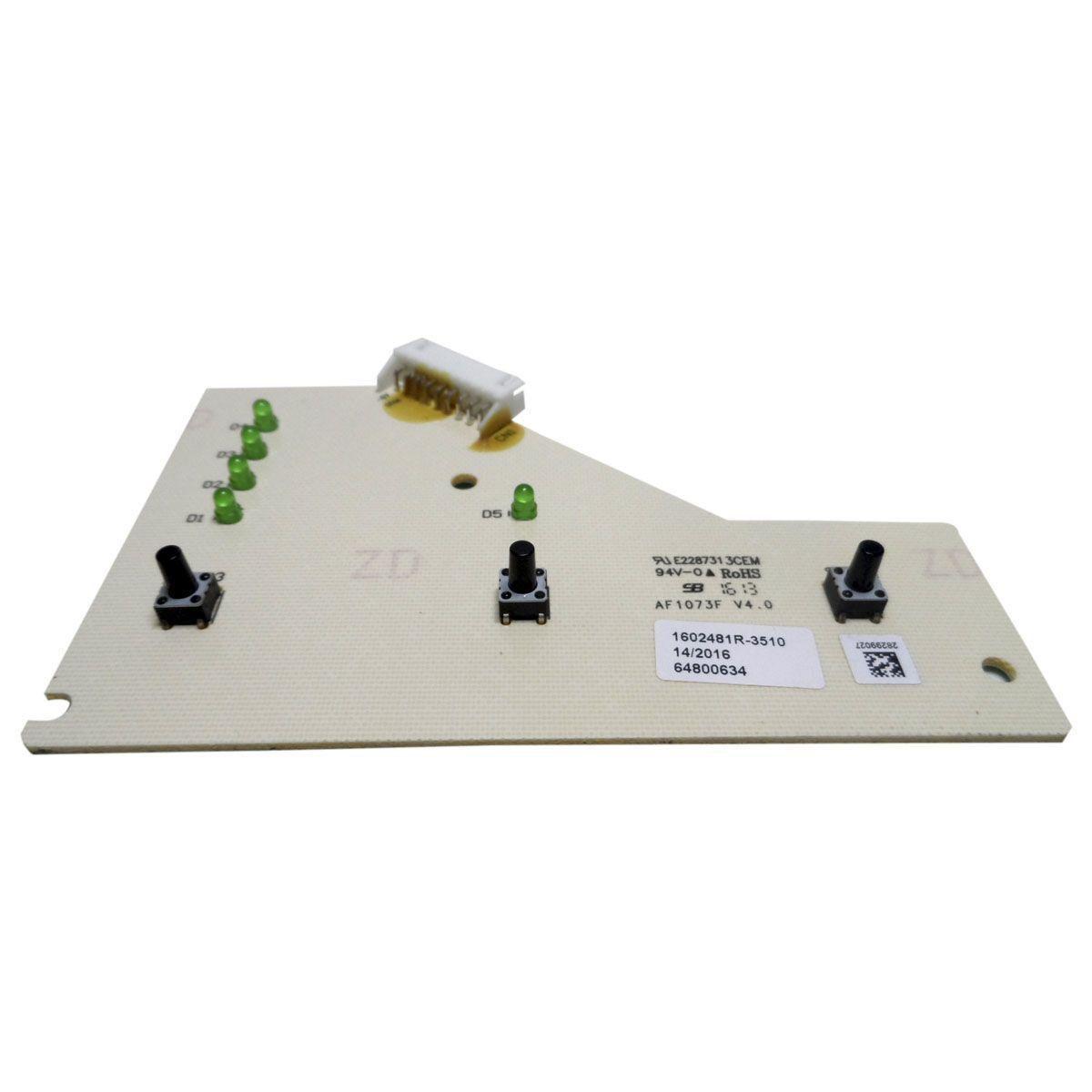 Placa Eletrônica Interface Chicote Refrigerador Electrolux 64800634