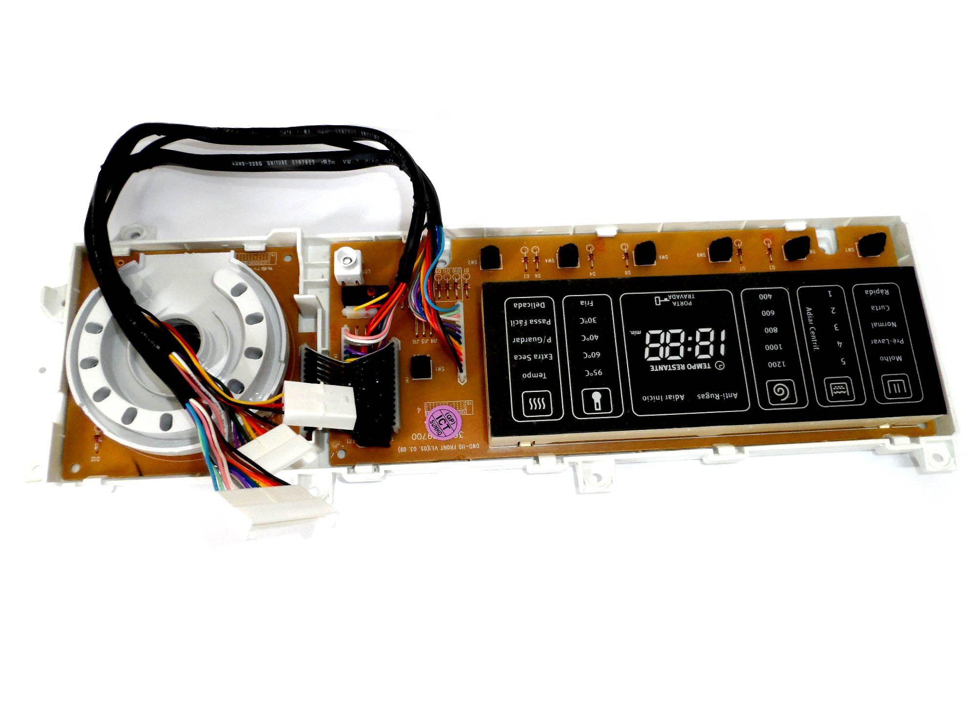 Placa Eletrônica Lava Seca Electrolux 220V PSSWID15