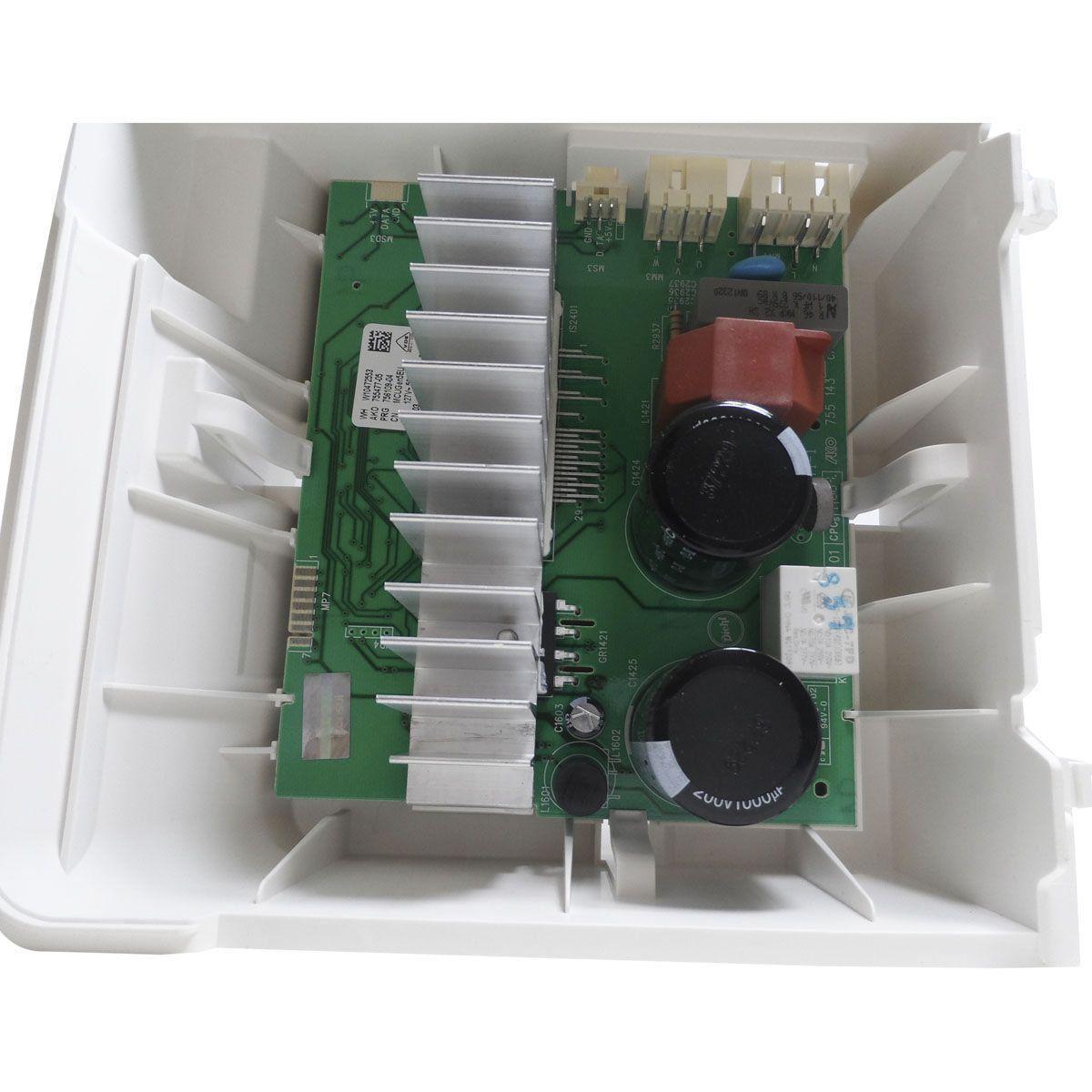 Placa Eletrônica Lavadora Brastemp Premium 127V W10472553