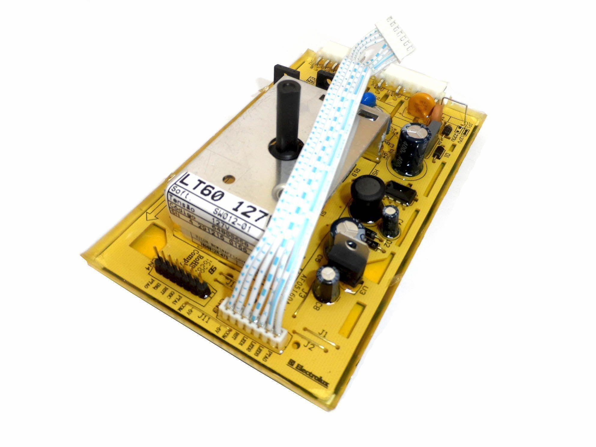 Placa Eletrônica Lavadora Electrolux 127V 70294789