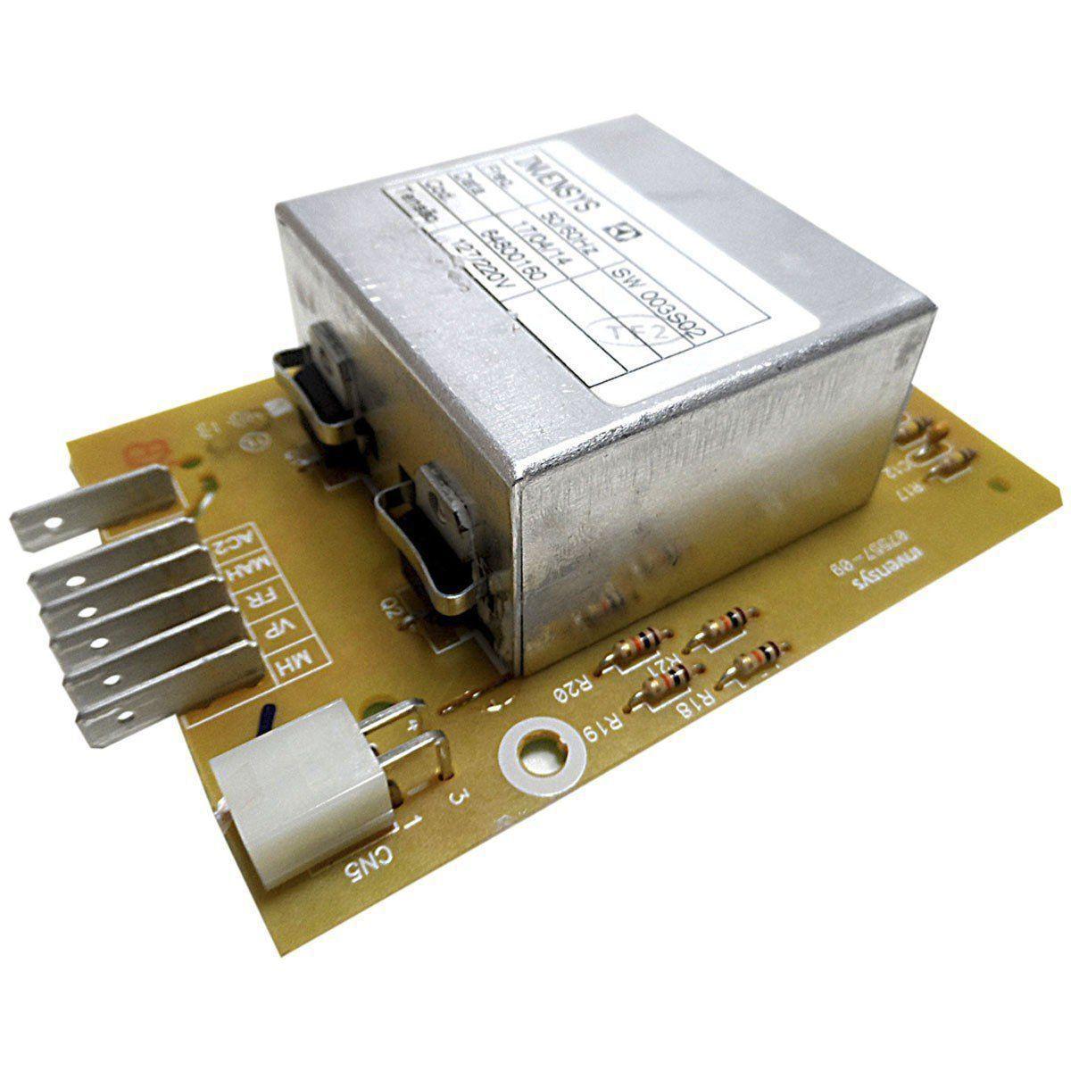 Placa Eletrônica Potência Lavadora Electrolux 64800160