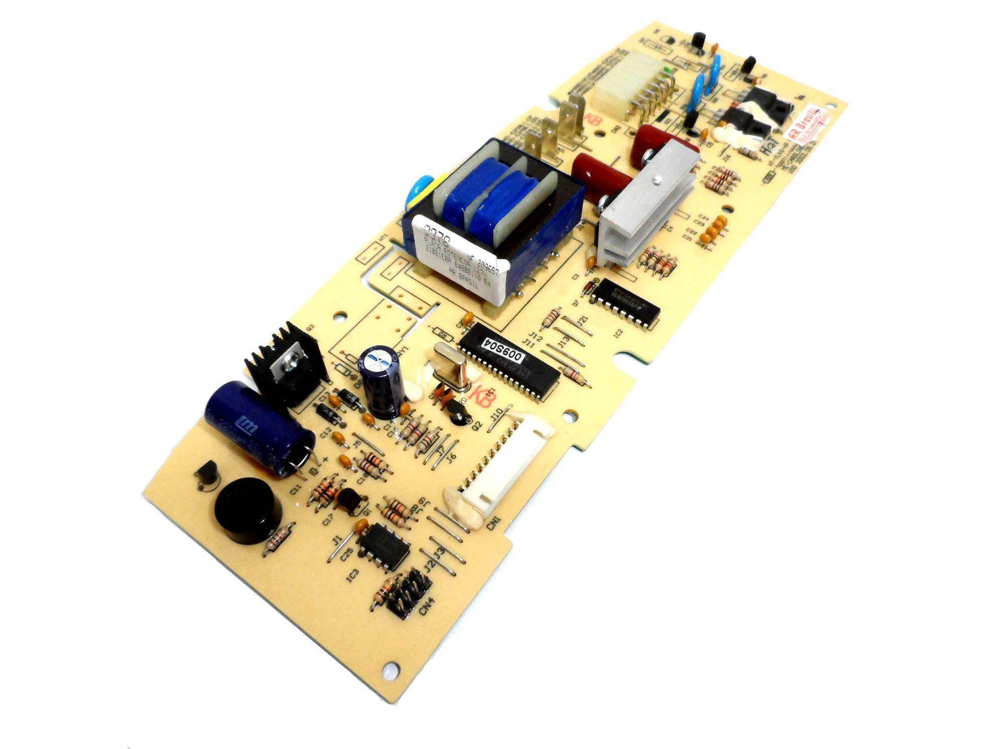 Placa Eletrônica Potência 127V Lavadora Electrolux  64800110