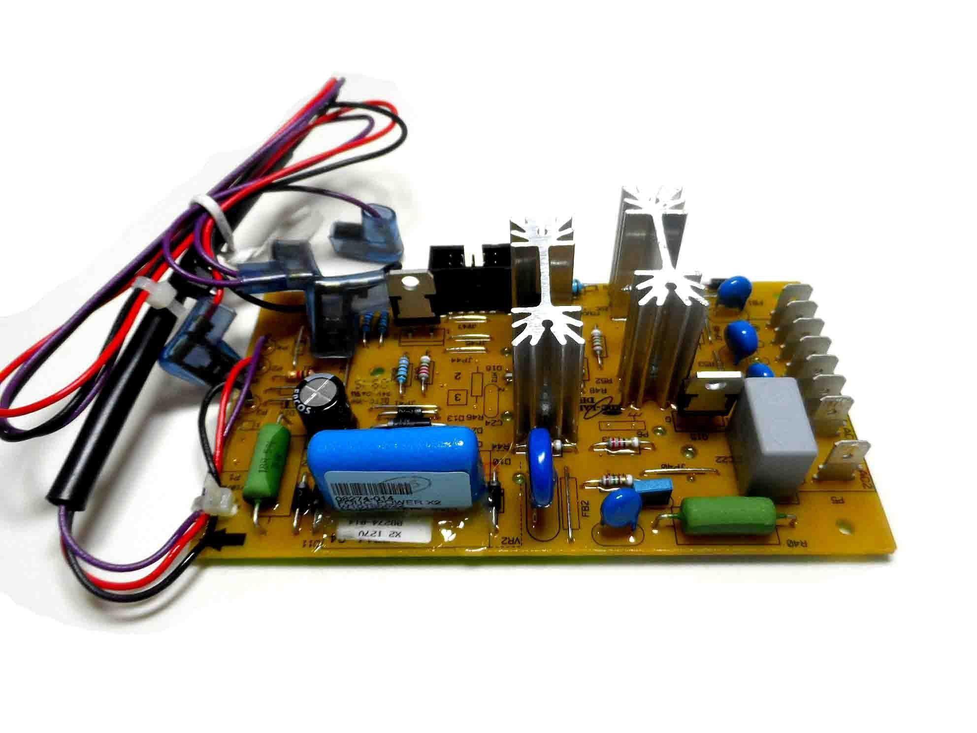 Placa Eletrônica Potência Lavadora Brastemp 127V W10185622