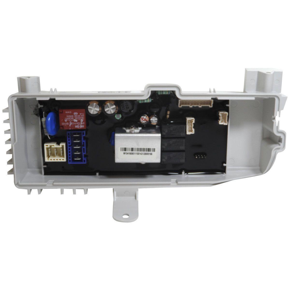Placa Eletrônica Potência Lavadora Brastemp 127V W10416690