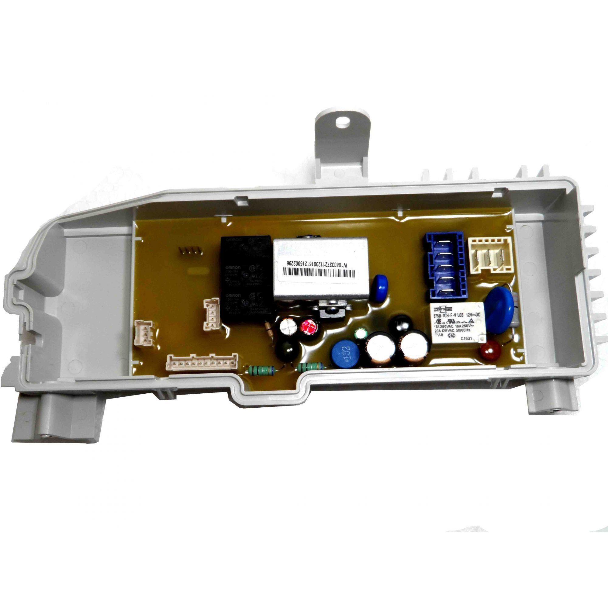 Placa Eletrônica Potência Lavadora Brastemp 127V W10734111