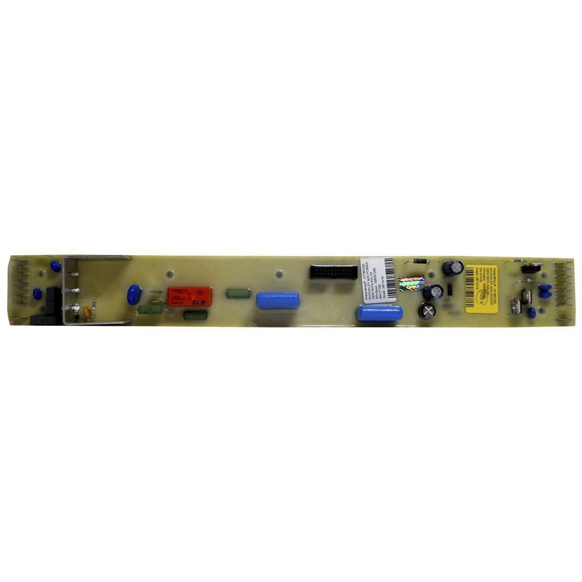 Placa Eletrônica Potência Lavadora Brastemp 220V 326051295