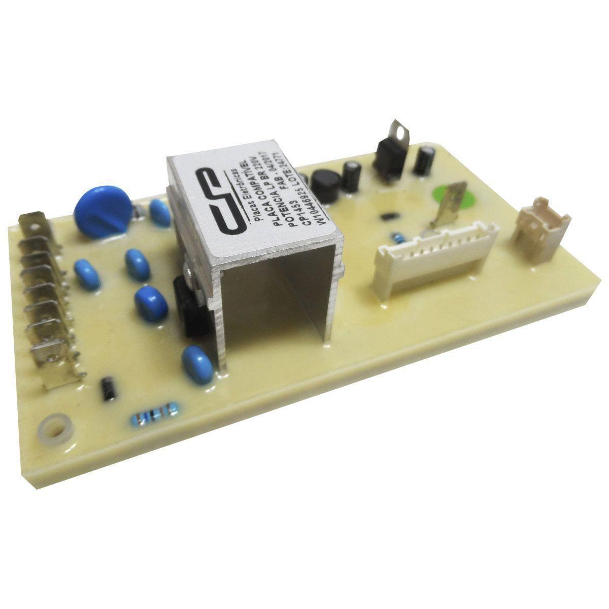 Placa Eletrônica Potência Lavadora Brastemp Consul C.P W10454369