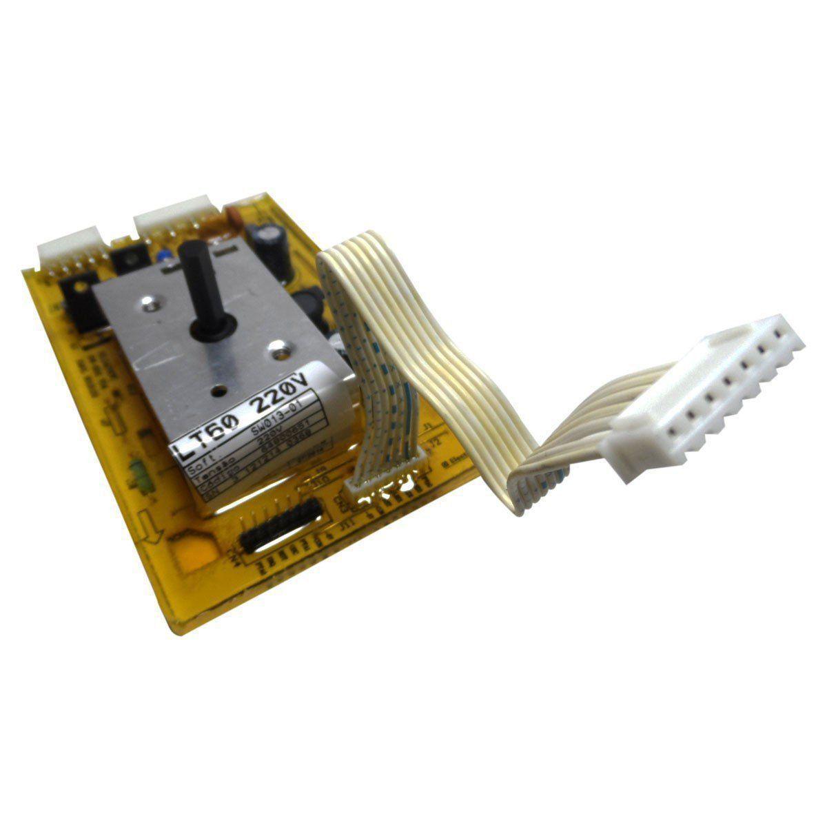 Placa Eletrônica Potência Lavadora Electrolux  220V 64800651